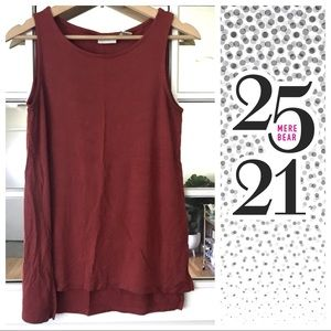 Tops - Rust colored tank